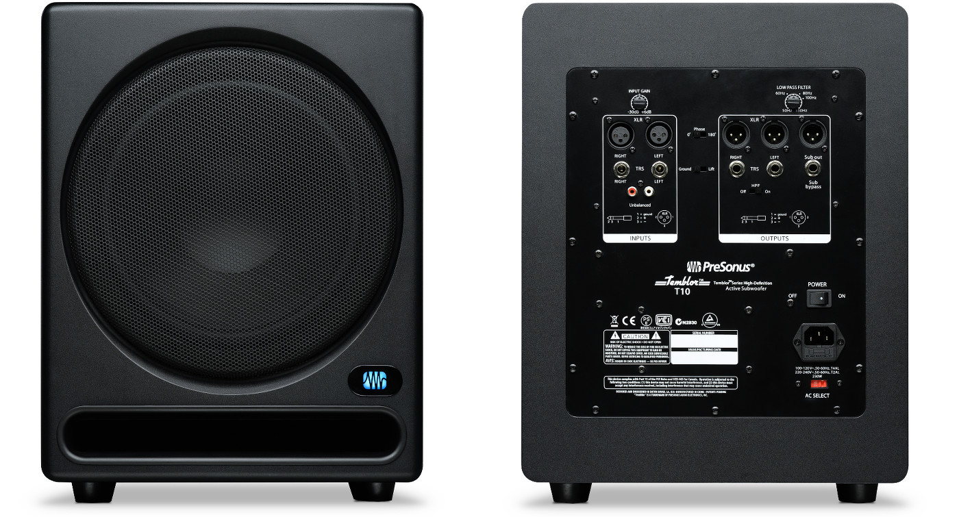 Presonus Temblor T10 Powered Subwoofer